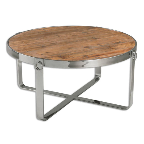 Uttermost Berdine Wooden Coffee Table
