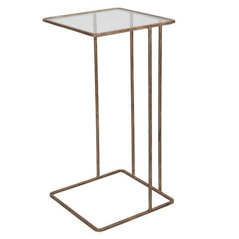 Uttermost Cadmus Gold Side Table