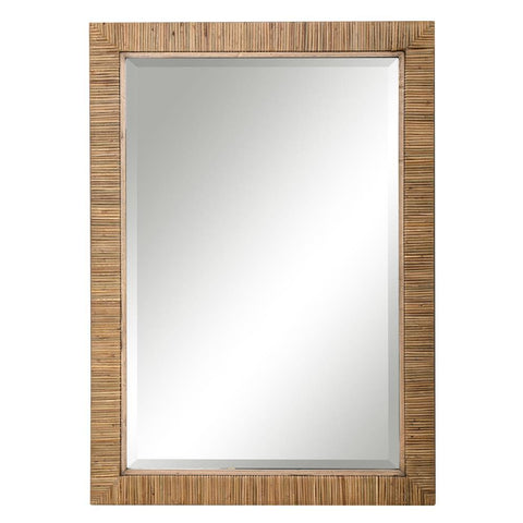 Uttermost Cape Natural Rattan Mirror