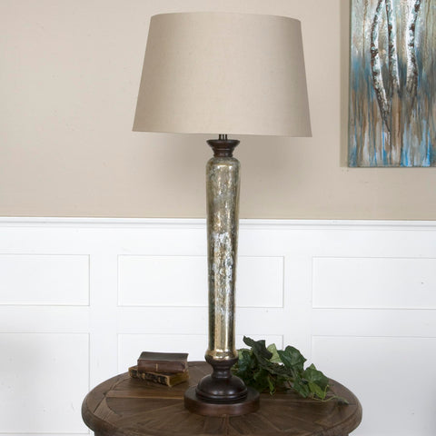 Uttermost Cassini Mercury Glass Buffet Lamp
