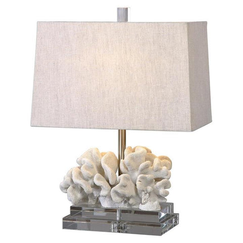 Uttermost Coral Sculpture Table Lamp