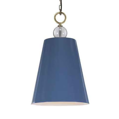 Uttermost Delray Blue 1 Light Pendant