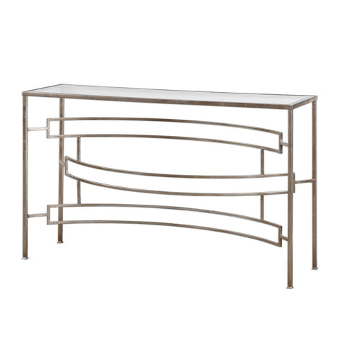 Uttermost Eilinora Silver Console Table