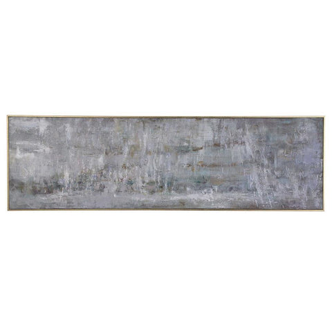 Uttermost Frenzy Abstract Gray Art