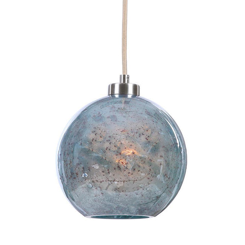 Uttermost Gemblue1 Light Mini Pendant