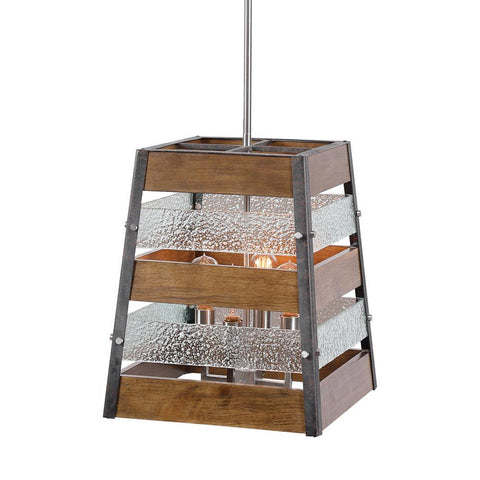 Uttermost Glasshouse 4 Light Lantern Pendant