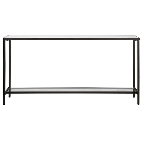 Uttermost Hayley Black Console Table
