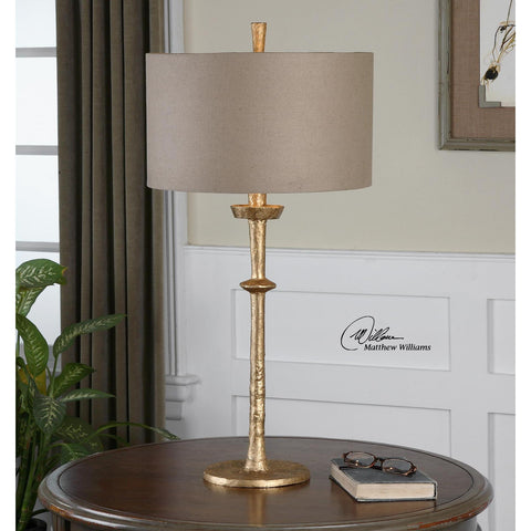 Uttermost Heraclius Gold Table Lamp