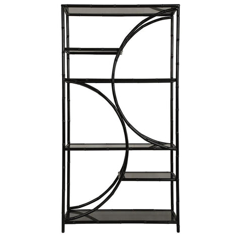 Uttermost Hinton Black Iron Etagere