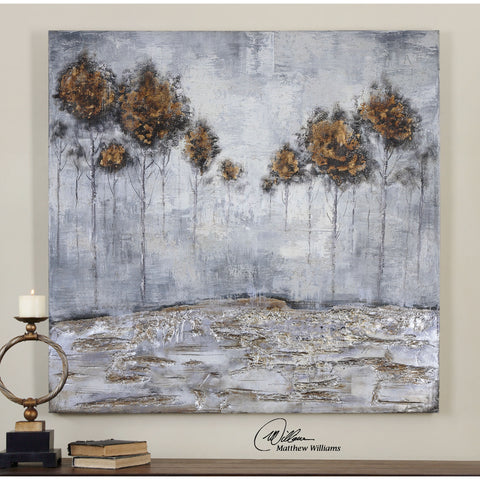 Uttermost Iced Trees Abstract Art