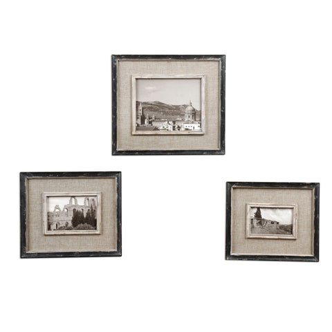 Uttermost Kalidas Photo Frames (Set of 3)