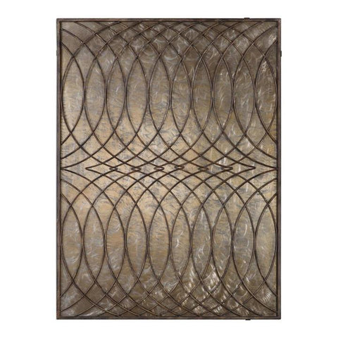 Uttermost Kanza Antique Bronze Wall Panel