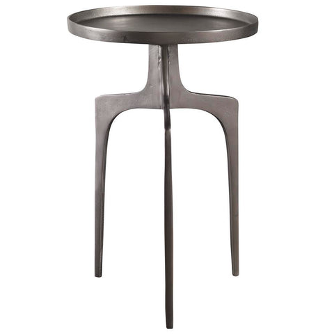 Uttermost Kenna Nickel Accent Table