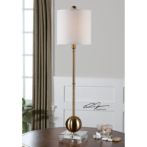 Uttermost Laton Brass Buffet Lamp