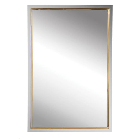 Uttermost Locke Chrome Vanity Mirror