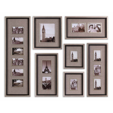 Uttermost Massena Photo Collage Wall Art (Set of 7)