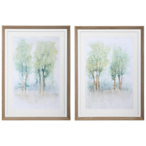 Uttermost Meadow View Framed Prints, S/2