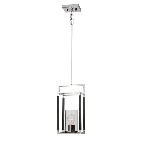 Uttermost Newburgh 1 Light Nickel Mini Pendant