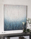Uttermost Outside the Window Frameless Hand Painted Artwork on Canvas