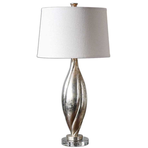 Uttermost Palouse Champagne Leaf Lamp