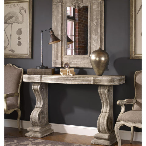 Uttermost Partemio Distressed Console Table