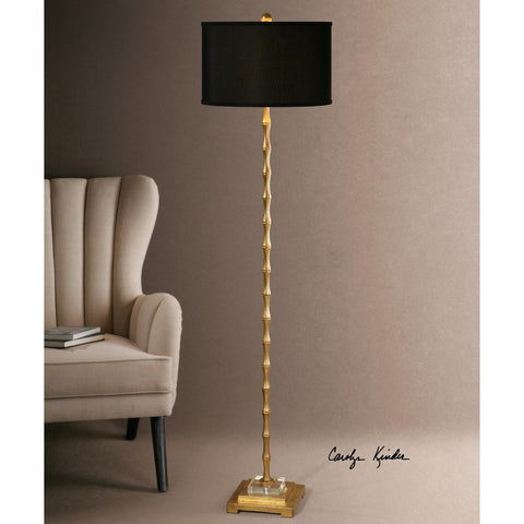 Uttermost Quindici Metal Bamboo Floor Lamp