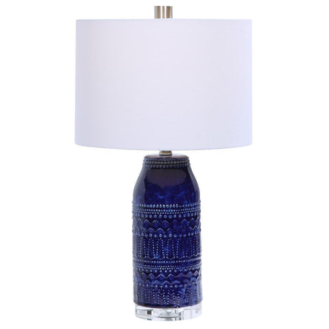Uttermost Reverie Blue Table Lamp
