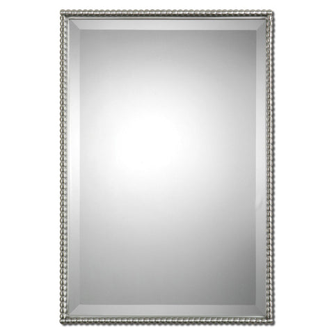 Uttermost Sherise Metal Rectangular Mirror