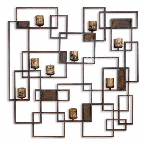 Uttermost Siam candle Light Wall Sculpture