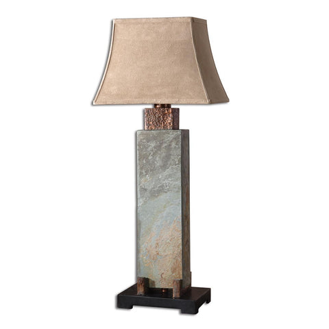 Uttermost Slate Tall Table Lamp