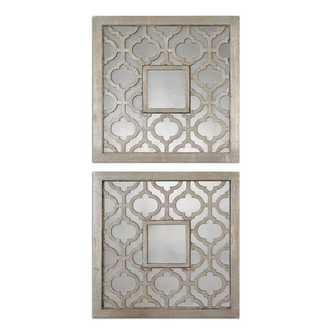 Uttermost Sorbolo Squares Wall Art(Set of 2)