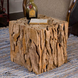 Uttermost Teak Root Bunching Cube
