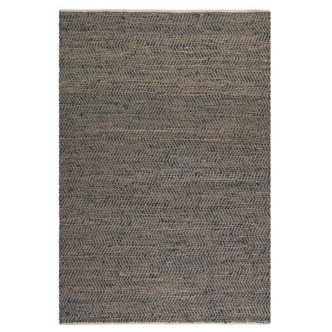 Uttermost Tobais Rescued Leather & Hemp Rug