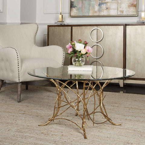 Uttermost Uttermost Amoret Glass Coffee Table