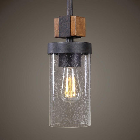 Uttermost Uttermost Atwood 1 Light Industrial Mini Pendant