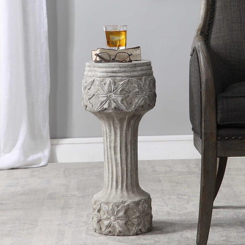 Uttermost Uttermost Capistrano Concrete Drink Table