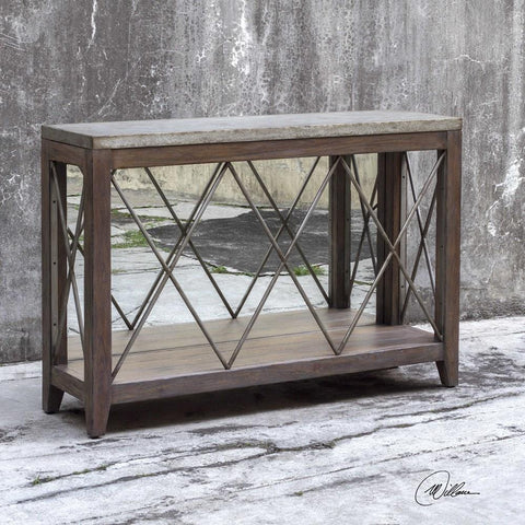 Uttermost Uttermost Delancey Iron Console Table