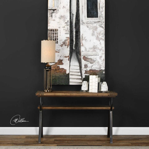 Uttermost Uttermost Domini Industrial Console Table