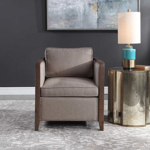Uttermost Uttermost Ennis Contemporary Accent Chair