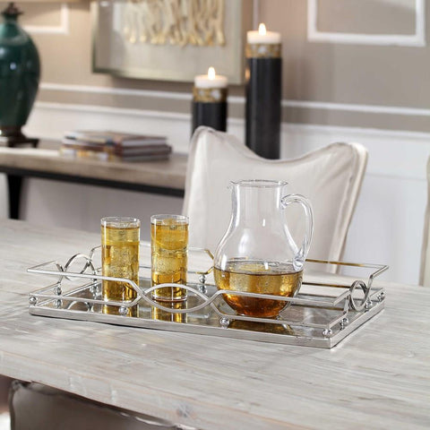Uttermost Uttermost Eugenie Nickel Tray