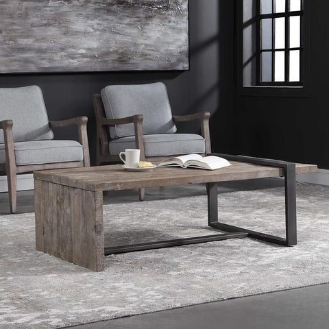 Uttermost Uttermost Genero Weathered Coffee Table