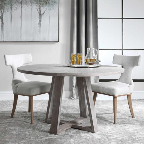Uttermost Uttermost Gidran Gray Dining Table
