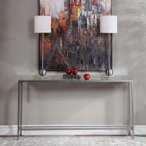 Uttermost Uttermost Hayley Silver Console Table