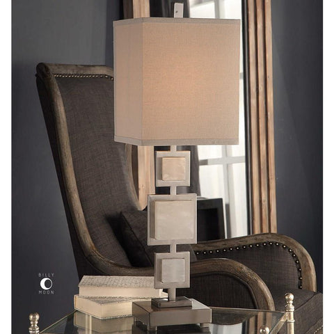 Uttermost Uttermost Idalgo Brushed Nickel Lamp