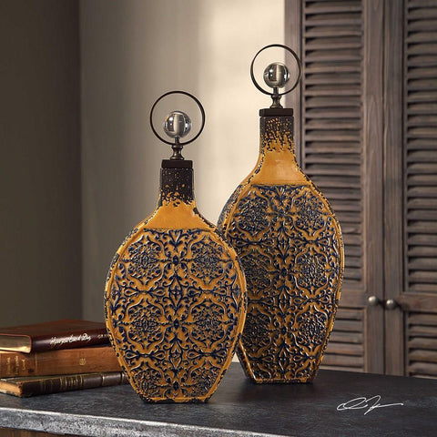 Uttermost Uttermost Katelyn Ceramic Vessels, Set of 2