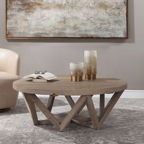 Uttermost Uttermost Kendry Reclaimed Wood Coffee Table