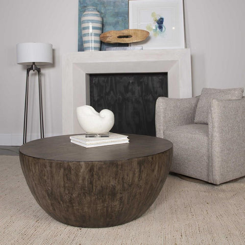 Uttermost Uttermost Lark Round Wood Coffee Table