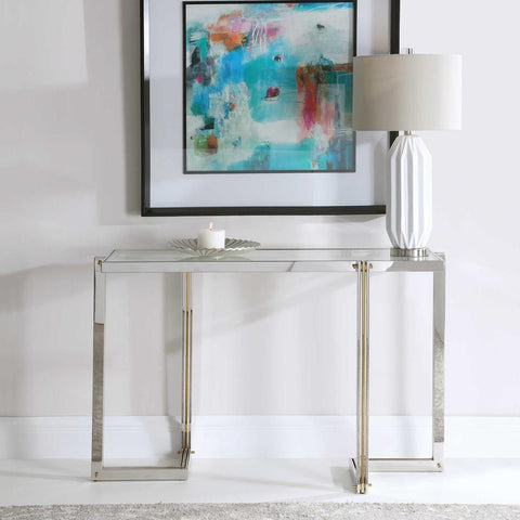 Uttermost Uttermost Locke Modern Console Table