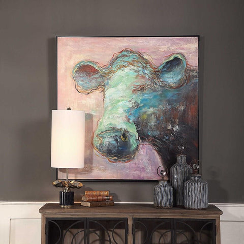 Uttermost Uttermost Matty The Cow Animal Art