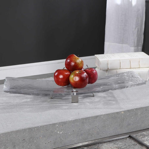 Uttermost Uttermost Mika Art Glass Tray